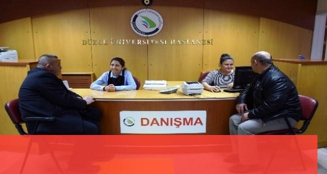 Düzce Üniversitesi hastanesi hasta odaklı çalışıyor