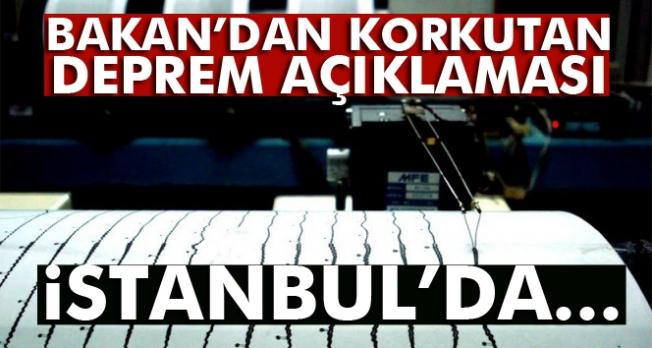 Bakan Özhaseki: 'İstanbul'da 7'nin üzerinde deprem olacak'