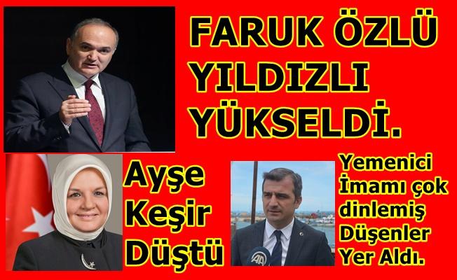 Dr Faruk Özlü ve Tozan Yıldızlı Yükseldi.