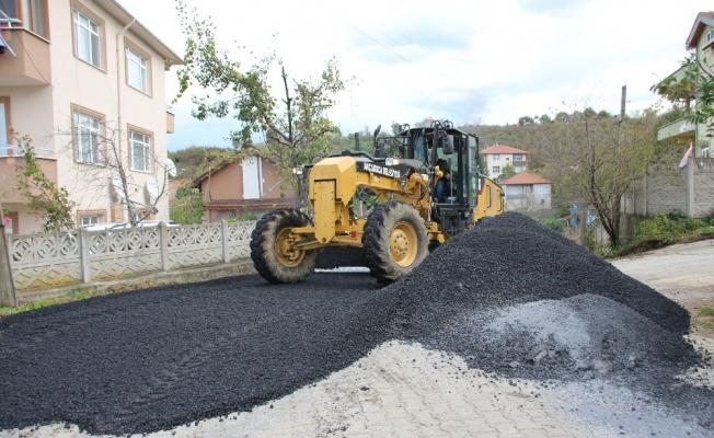 Akçakoca'da sokak yenileme çalışmaları sürüyor