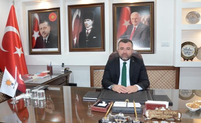 """AK Parti Düzce İl Başkanı Keskin """"Gurur duyduk"""""""