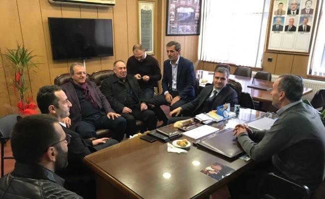 Başkan Yemenici, esnaf temsilcilerini ziyaret etti