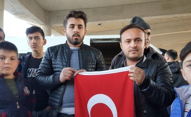 Düzceli gençlerin gönülleri Afrin'de