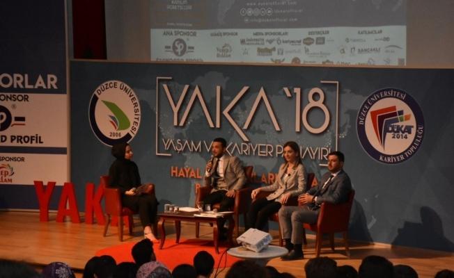 Başkan yardımcıları Yaka'da tecrübelerini anlattı