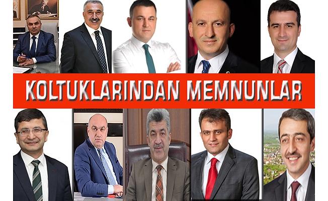BAŞKANLAR SESSİZ KALDI