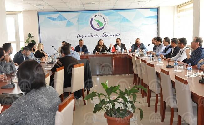 DÜ'de çevre ve sağlık teknolojileri konulu toplantı yapıldı
