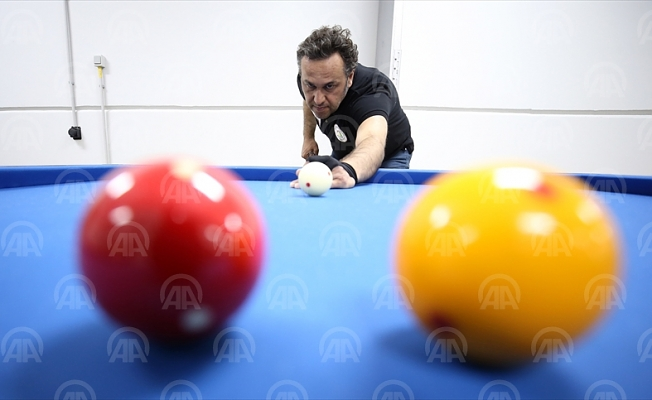 Dünya Bilardo Şampiyonası'na hazırlanıyor