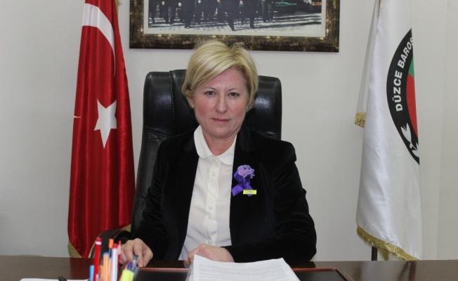 Düzce Baro Başkanı Av. Azade Ay Çocuk Bayramını kutladı