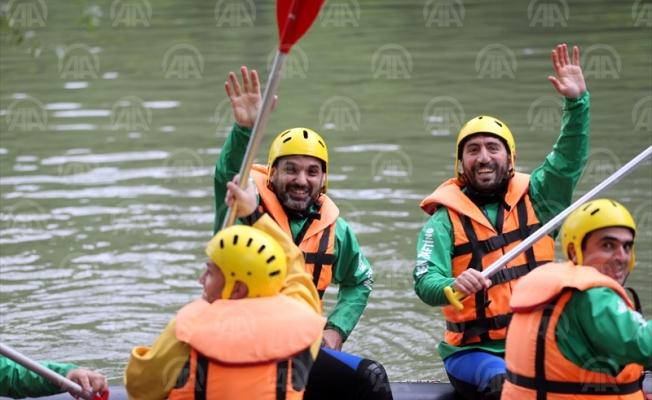 Düzce, rafting sporunda marka haline geldi