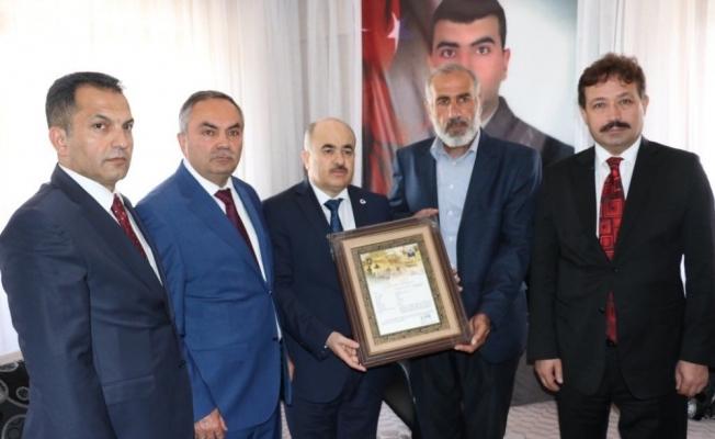 Şehit ailesine Cumhurbaşkanı adına Şahadet Belgesi verildi