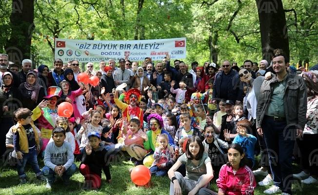 Sevgi evi çocukları, 23 Nisan pikniğinde buluştu