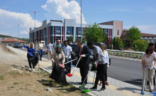 Temiz üniversite temiz Düzce