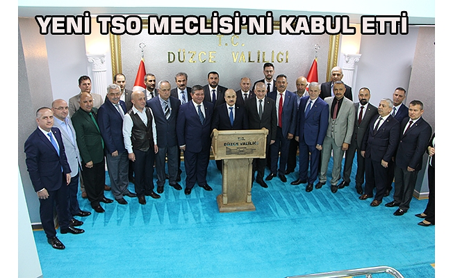 TSO'DAN VALİ DAĞLI'YA ZİYARET