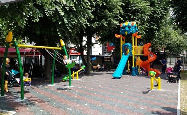 Avni Akyol'a çocuk oyun alanı yapıldı