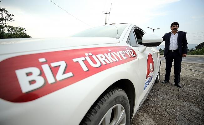 Erdoğan'a destek için 5. kez Türkiye turunda