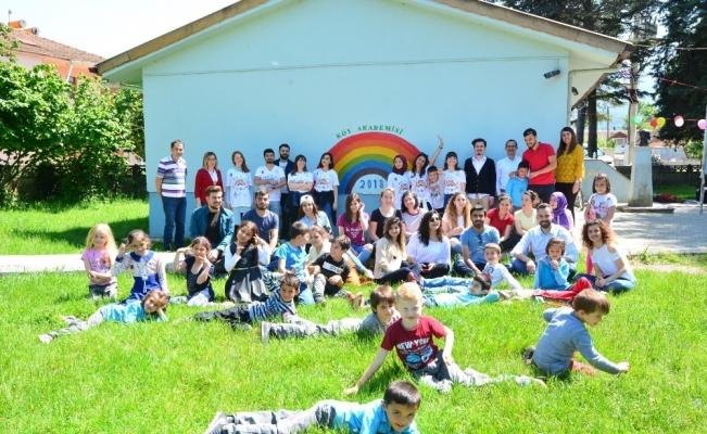 Köy akademisi güneş etkinliği yapıldı