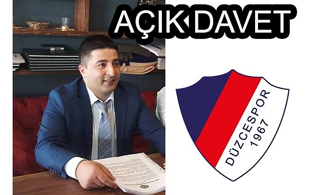 MHP'DEN AÇIK DAVET