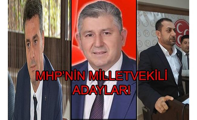 MHP'NİN ADAYLARI BELLİ OLDU
