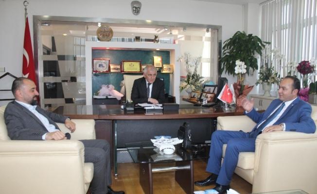 Milletvekili aday adayı Gündüz'den DTSO ve DESOB'a ziyaret