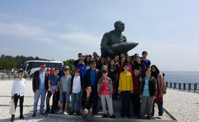 Öğrenciler Türkiye'yi tanıyor