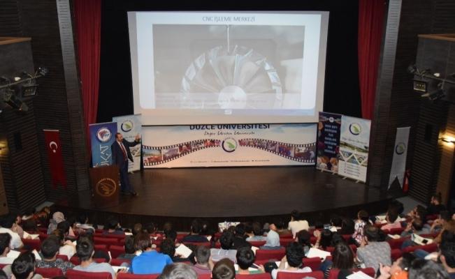 Savunma sanayi öğrenci çalıştayı düzenlendi