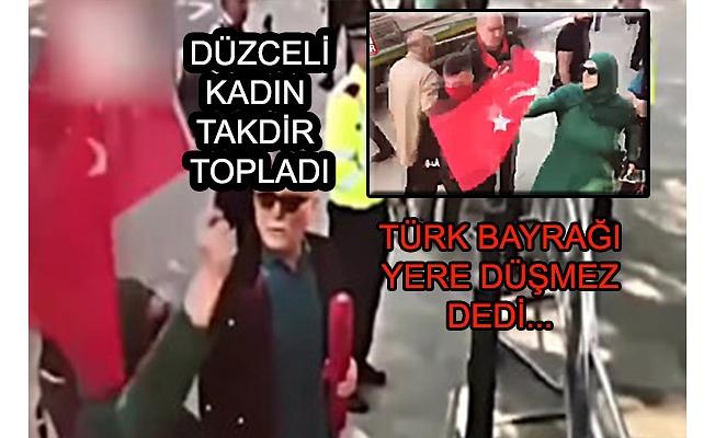 TÜRK KADINININ CESARETİ