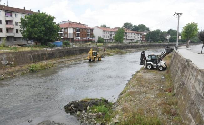 Asar Deresi temizleniyor