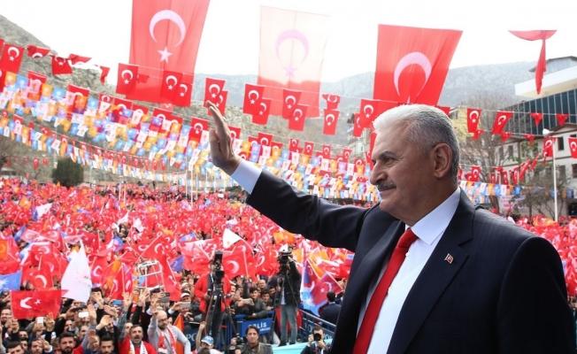 BAŞBAKAN DÜZCE'YE GELİYOR