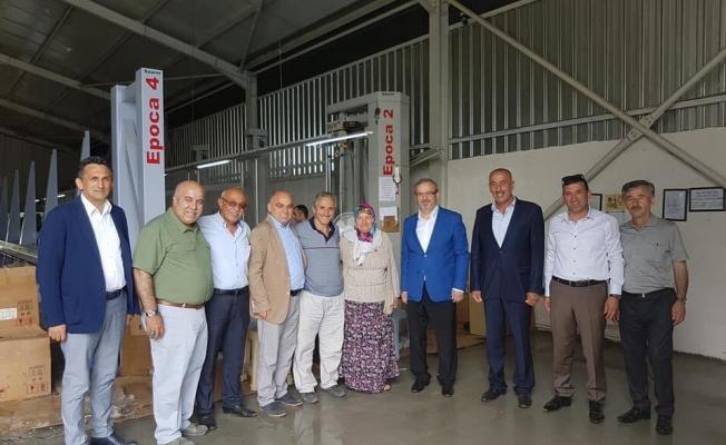 Çakır'dan Fabrikalara Ziyaret