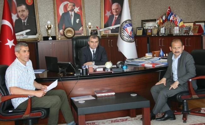 Dereci'den Başkan Yemenici'ye ziyaret