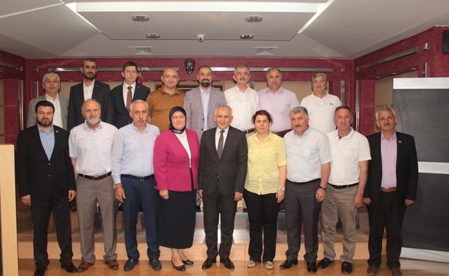İl Genel Meclisi Üyelerinden DTSO'ya ziyaret