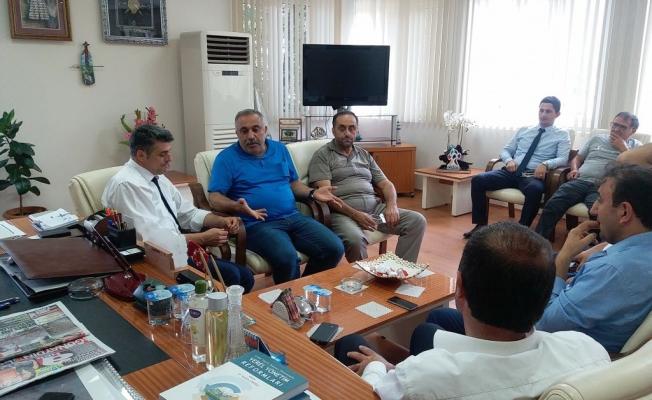 MHP Düzce Milletvekili Ümit Yılmaz Gölyaka'da