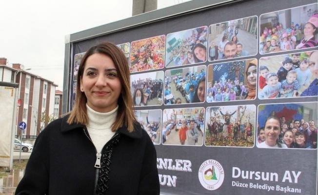 Düzce Belediyesinden ilginç Öğretmenler Günü kutlaması
