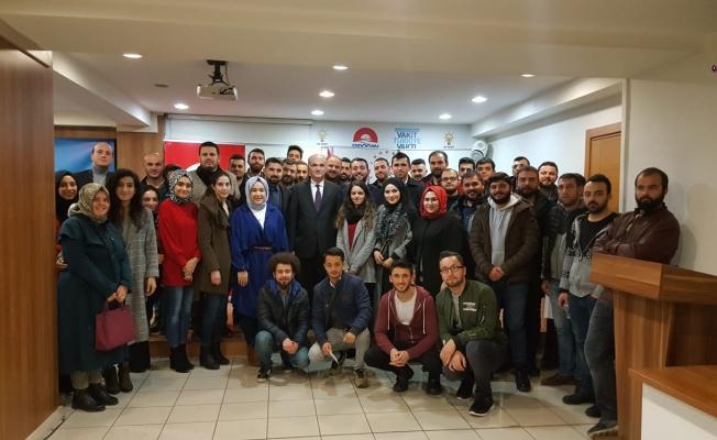 """ÖZLÜ """"DÜZCE'Yİ BİRLİKTE GELECEĞE TAŞIYACAĞIZ"""""""
