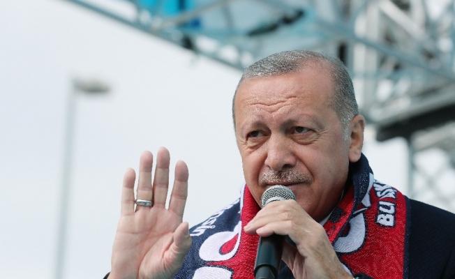 """Cumhurbaşkanı Erdoğan: """"Türkiye Cumhuriyeti tarihinde spora bizim dönemimizdeki kadar önem veren hiçbir iktidar olmamıştır"""""""