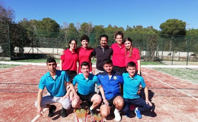 Düzce Üniversitesi Kadın Tenis Takımı 1. Lige yükseldi