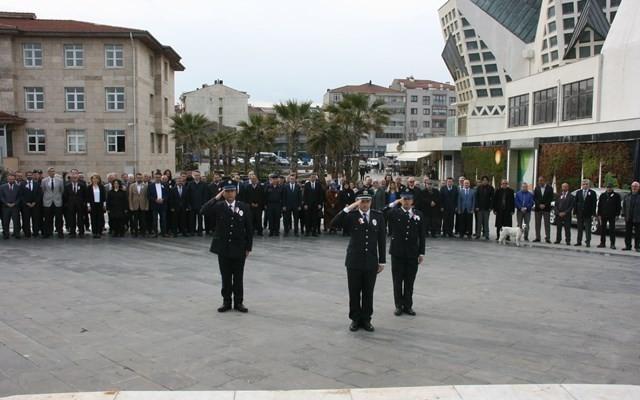 Akçakoca'da Polis teşkilatının kuruluşunun 174. yılı kutlandı