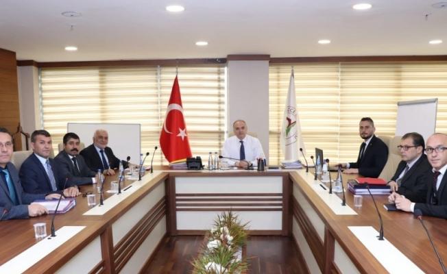 Başkan Özlü'den istişare toplantısı
