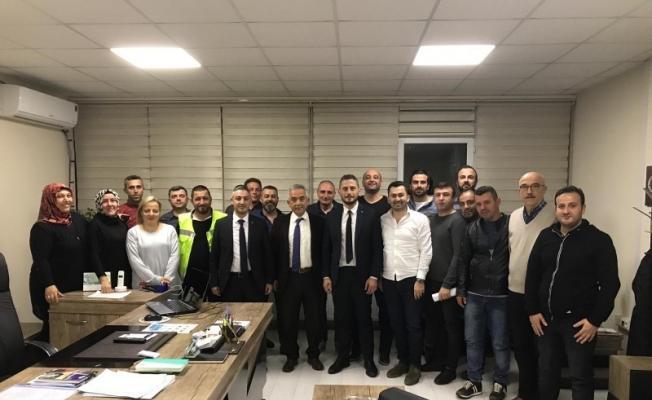 Başkan Yardımcısı Kasapoğlu, personel ile yakından ilgileniyor