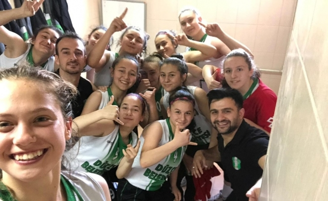 Basketbolda Düzceli kızlar tarih yazıyor