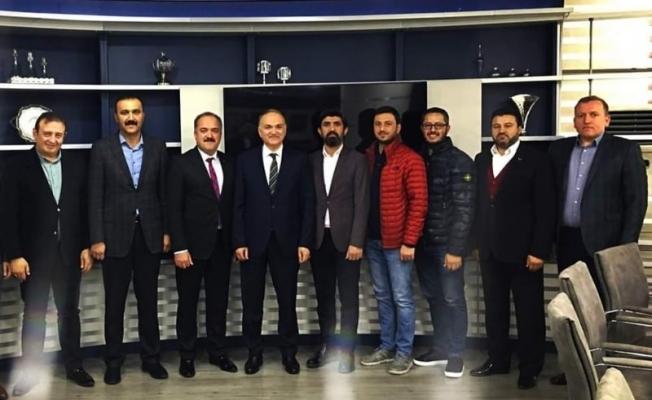 MÜSİAD'dan başkanlara hayırlı olsun ziyareti