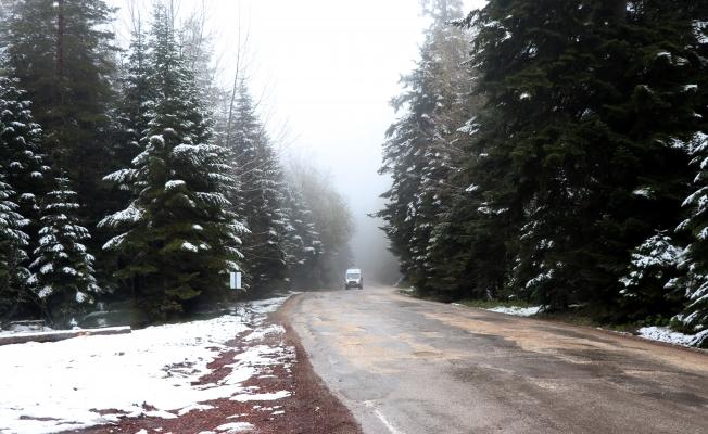 Mayıs'ta kar sürprizi