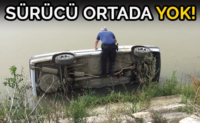 OTOMOBİL MELEN'E UÇTU