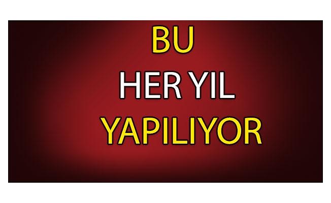 50 BİN ADET BIRAKILDI