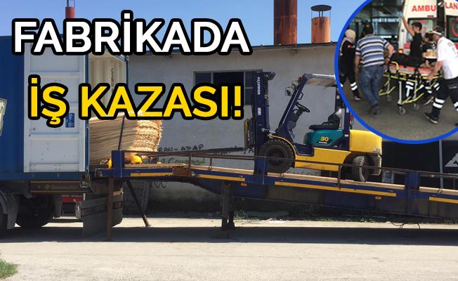 PALETİN ALTINDA KALDI!