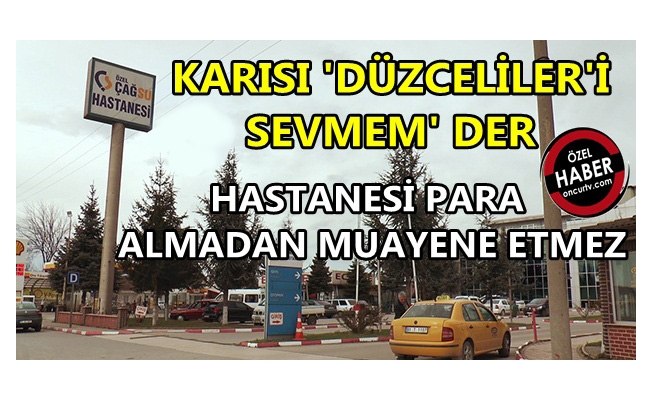 ÇAĞSU ACİLİ'NDE SKANDAL!