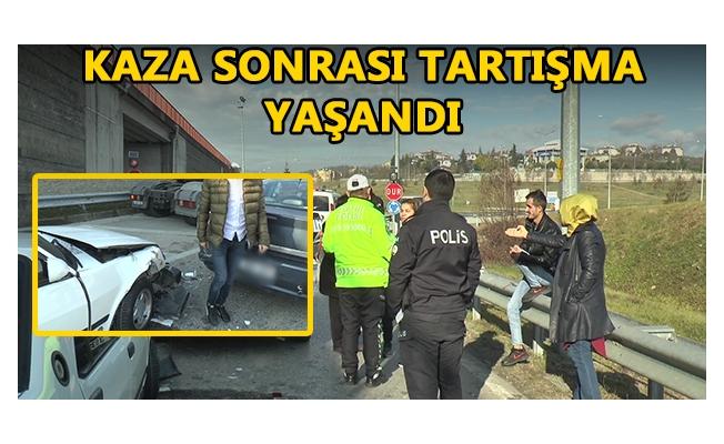 POLİS EKİPLERİ MÜDAHALE ETTİ