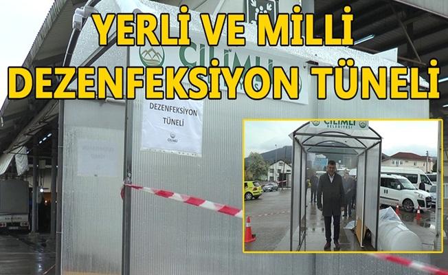 ÇİLİMLİ PAZARYERİNE KURULDU...