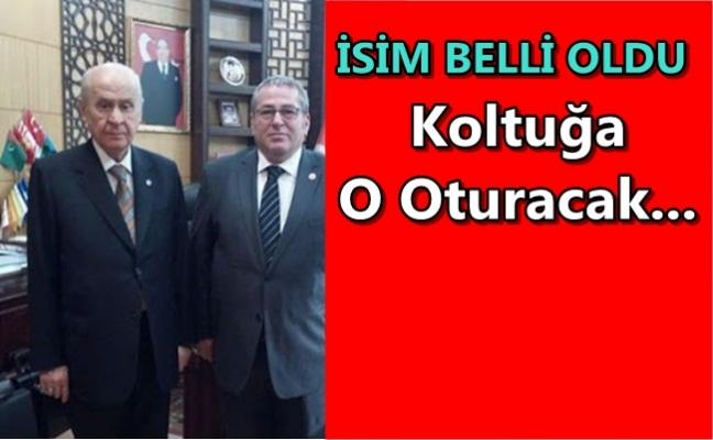 MHP'NİN BELEDİYE MECLİSİNDE BİR KOLTUĞU BOŞALDI...