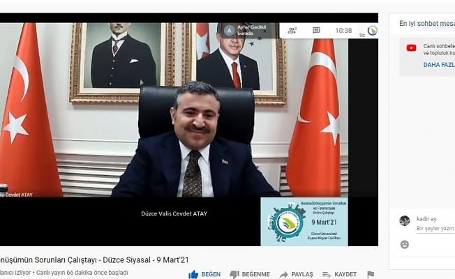 TÜRKİYE'DE İLK KEZ DÜZCE'DE
